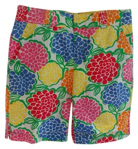 Lilly Pulitzer Shorts Blue, yellow, pink, green, orange