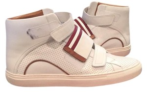 Bally White calf perforated Athletic