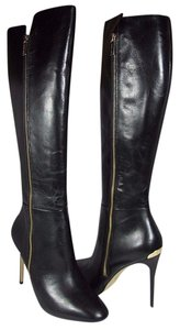 Michael Kors Knee-high Stiletto black Boots