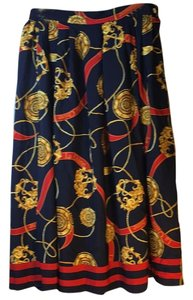 La Chine Galinda Wang Skirt Multi Color
