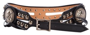Barry Kieselstein-Cord Barry Kieselstein-Cord Black Leather Belt
