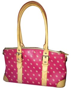 Dooney & Bourke Satchel in Lipstick Pink