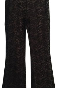 Laundry by Shelli Segal Flare Pants Black