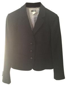 J.Crew Buttons Riding Black Blazer