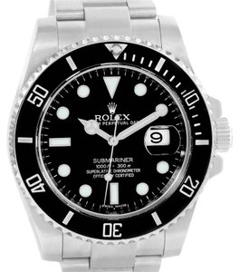 Rolex Rolex Submariner Ceramic Bezel Steel Date Mens Watch 116610 Box Papers