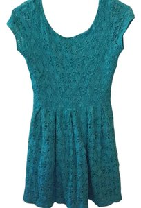 Eight Sixty short dress Blue on Tradesy
