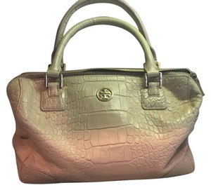 Tory Burch Tote Bowling Classic Cross Body Satchel in Brown