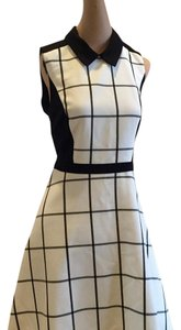 Ann Taylor LOFT short dress Black and White on Tradesy