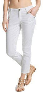 Sanctuary Clothing Liberty Cargo Capri Denim Pants Skinny Jeans-Light Wash