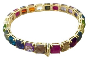 Ippolita Ippolita 18k Gold Multicolor Gemstone Rock Candy Tennis Bracelet