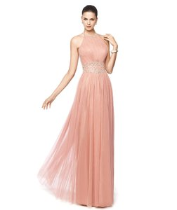 Pronovias Dark Pink Niara Dress