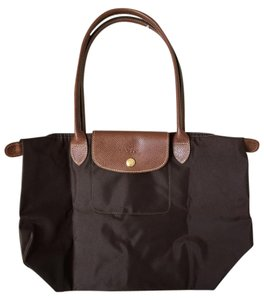 Longchamp Le Pliage Tote in Terracotta Brown