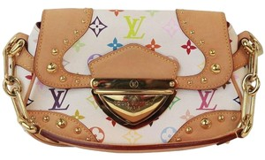 Louis Vuitton Marilyn White Satchel in Multi-Color