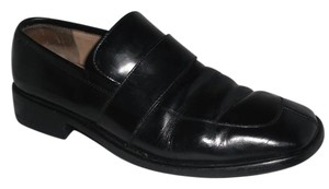 Gucci Leather Loafers Androgynous Black Flats