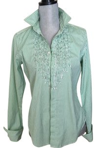Ralph Lauren Black Label Button Down Shirt Green