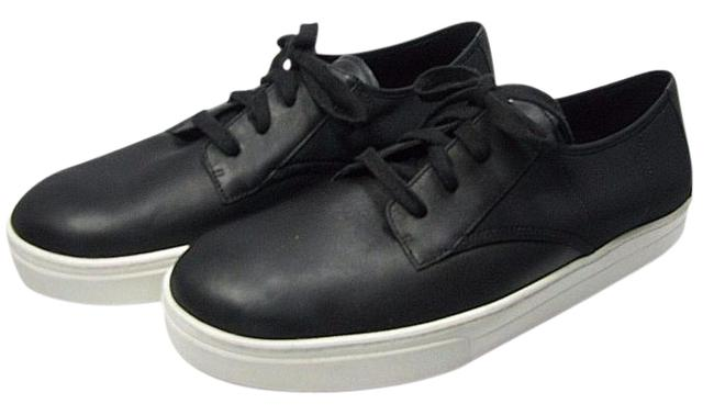 Item - Black New Womens Leather Koi Lace Up Tennis Sneakers Size US 9.5 Regular (M, B)