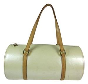 Louis Vuitton Leather Bedford Cream Tote