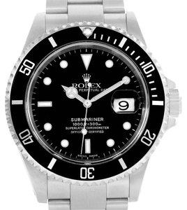 Rolex Rolex Submariner Mens Steel Automatic Date Watch 16610 Year 2000