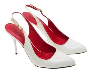 Cesare Paciotti White Pumps