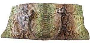 VBH Python Satchel Shoulder Bag