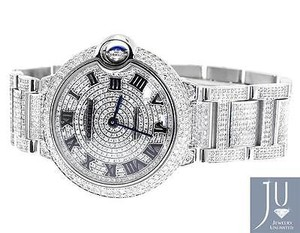 Cartier Mid Mm Cartier Ballon Bleu W6920046 Automatic Diamond Watch With Ct