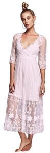 Free People Lace Sheer Dress