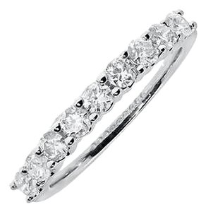 Jewelry Unlimited 14k,White,Gold,Ladies,Diamond,Shared,Prong,Wedding,Anniversary,Band,Ring,34,Ct
