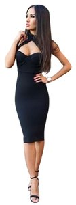 Other short dress Blue/black/red Bandage Blue Red Bodycon on Tradesy