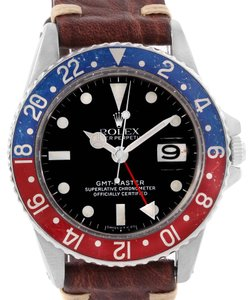 Rolex Rolex GMT Master Vintage Red and Blue Pepsi Bezel Mens Watch 1675