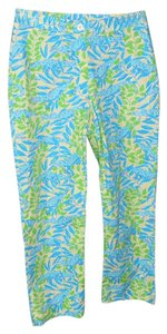Lilly Pulitzer Palm Beach Capris turquoise