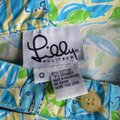 Lilly Pulitzer Turquoise Mimosa The Everglades Capris Size 0 (XS, 25) Lilly Pulitzer Turquoise Mimosa The Everglades Capris Size 0 (XS, 25) Image 4
