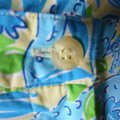Lilly Pulitzer Turquoise Mimosa The Everglades Capris Size 0 (XS, 25) Lilly Pulitzer Turquoise Mimosa The Everglades Capris Size 0 (XS, 25) Image 5