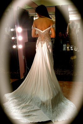 Mac Duggal Couture Wedding Dress