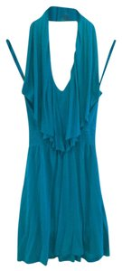 Arden B. short dress Teal on Tradesy