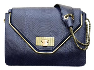 Chloé Chloe Sally Python Shoulder Bag