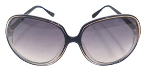 Oliver Peoples Oliver Peoples Sofiane Oversized Round Frame Sunglasses Navy ULM