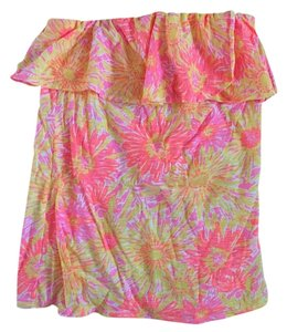 Lilly Pulitzer Top Pink yellow orange