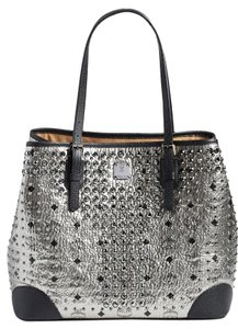 MCM New Studded Tote Shoulder Bag
