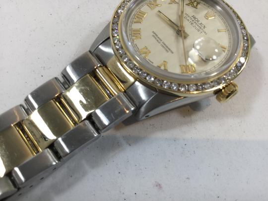Rolex Two-Tone Rolex Datejust Oyster