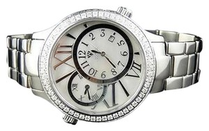 Other Mens Aqua Master Jojino Joe Rodeo Time Zong Diamond Watch W141 2.45 Ct
