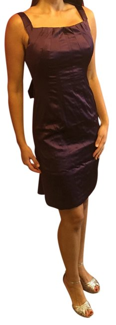 Item - Purple Above Knee Cocktail Dress Size 8 (M)