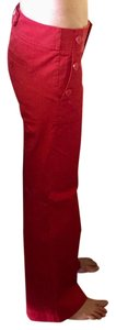 Ann Taylor LOFT Trouser Pants Red