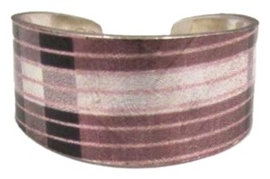 MAD'S BOUTIQUE Narrow Ring Pink Plaid
