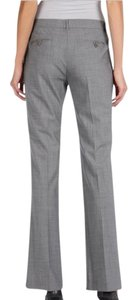 Theory Work Work Wear Career Straight Pants Grey, Light Grey