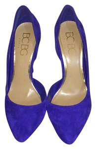 BCBG Paris Cobalt Blue Pumps