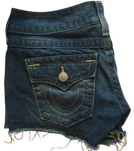 True Religion Cut Off Shorts Jeans