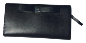 Kate Spade Kate Spade New! Montfort park smooth black wallet