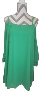Vava by Joy Han short dress Green Lace Summer Embroidered on Tradesy