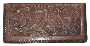 Other Vintage Tooled Checkbook Wallet