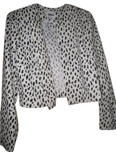 Leslie Fay Top White and Black